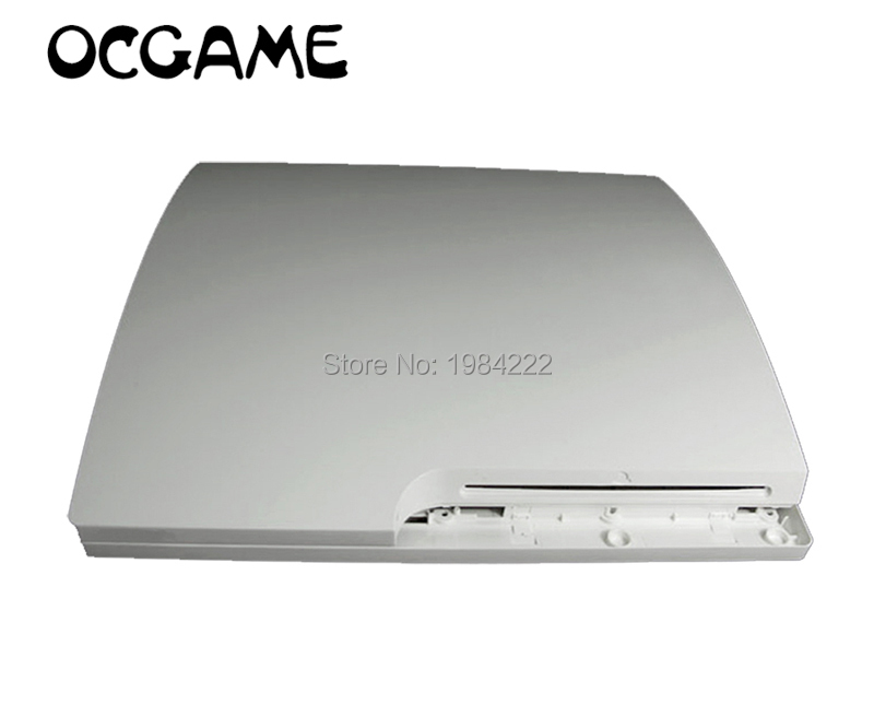 White &black Full Housing Shell Case Console Case For Ps3 Slim Made In China OCGAME