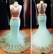 Zweiteilige Abendkleid 2016 Vestidos De Gala Largos Elegante Lange Abendkleider Meerjungfrau Kleid Prom