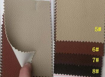 synthetic PVC car foor mat leather image