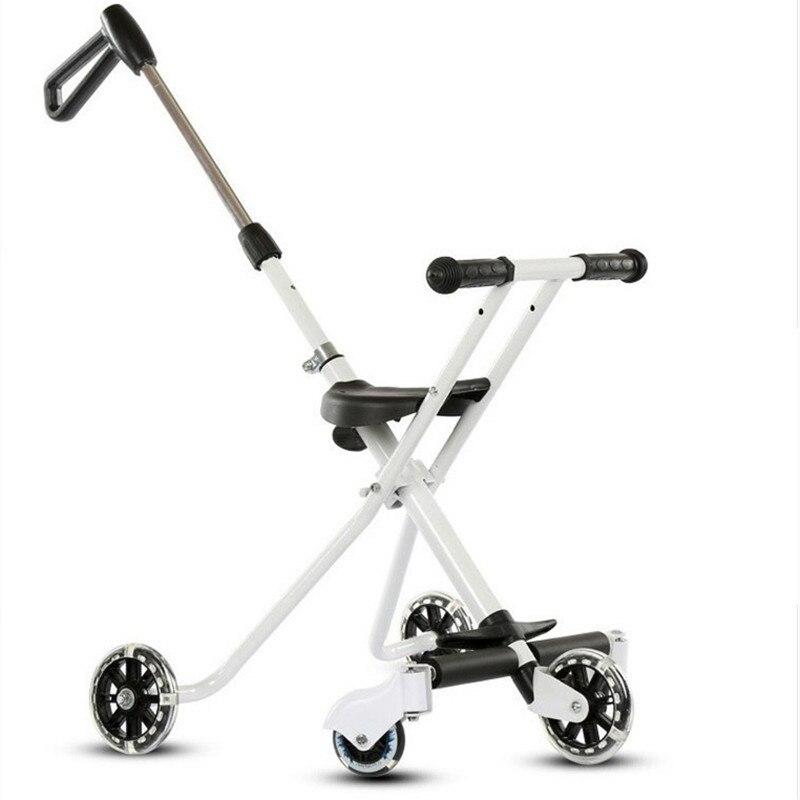 Детский пятиколесный детский от переворачивания портативный складной автомобиль мать и дети деятельность и снаряжение детская коляска ле...