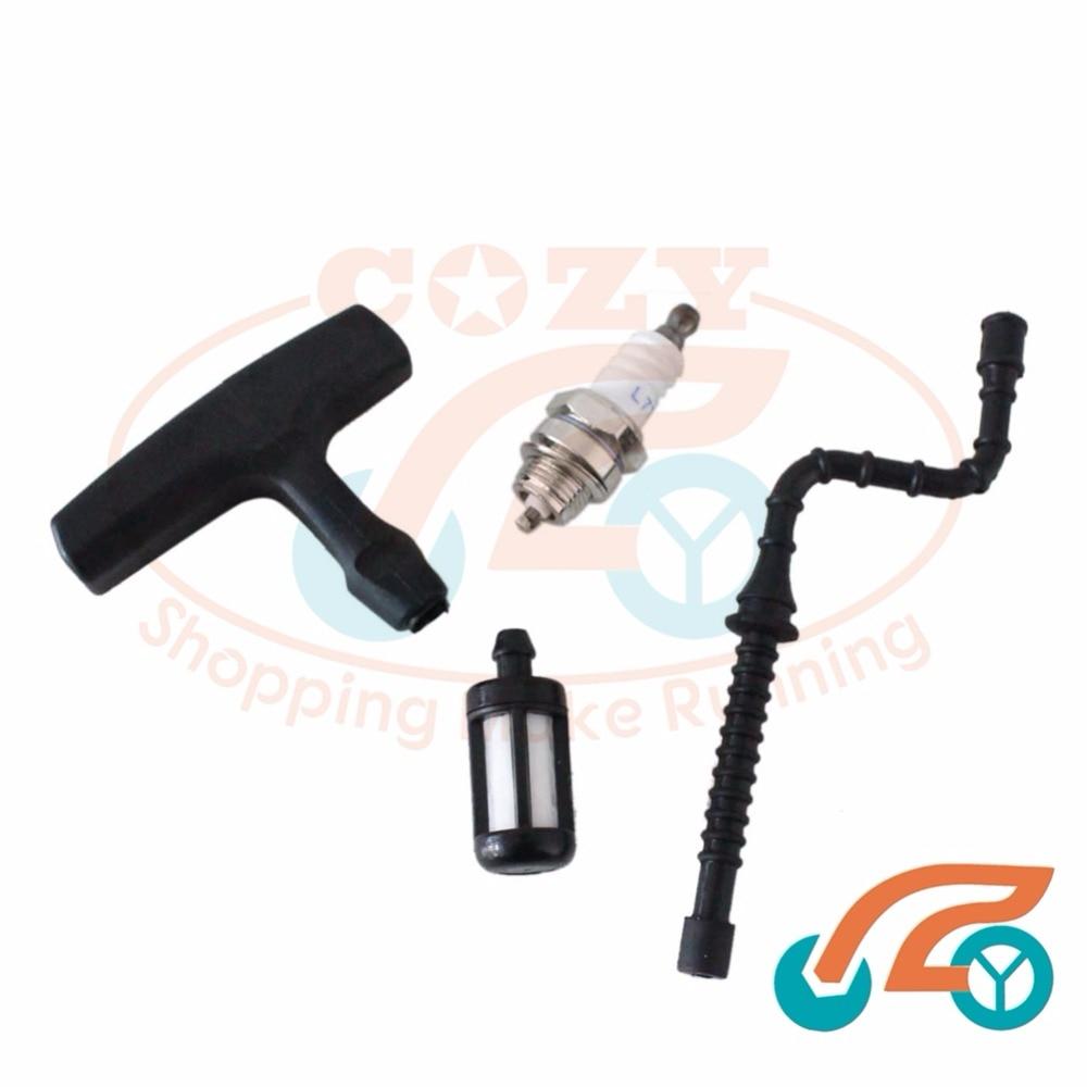 medium resolution of fuel line fuel filter spark plug fit for stihl 034 034av 034 super 028wb 028av 028 in chainsaws from tools on aliexpress com alibaba group