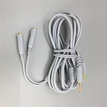 Кабель-удлинитель гарнитура продлить шнур для SteelSeries Siberia v2 игровые наушники длина 2 м с 3.5 мм для наушников Splitter