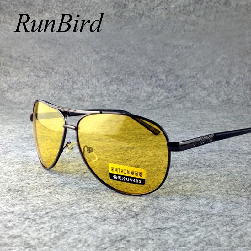 f03f0025194 Yellow Polarized Sunglasses Men Women Night Vision Goggles Driving Glasses  Driver Polaroid Sun Glasses UV400 1466R