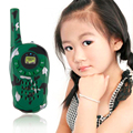 2Pcs Camouflage Walkie Talkie Toy Spy Gadgets Children Spy Toy Intercom Electronic Conan Portable Two-Way Radio Set Interphone