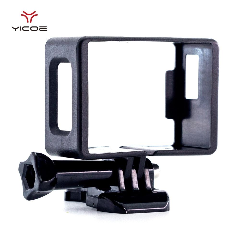 Frame Shell For EKEN H9R SJCAM SJ4000 WiFi Action Sport Camera Plastic Border Protective Case Housing Buckle Basic Mount Cover(China)
