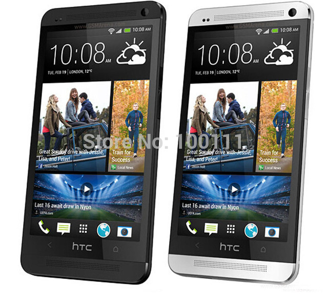 2019 New Style 100% Original Unlocked Htc One M7 Android Smartphone 32gb Rom 4.7inches Gps 3g Dual Camera 8mp Wifi Free Shipping Refurbished Mobile Phones