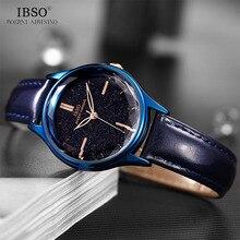 IBSO Montre bracelet de luxe pour femmes, Montre à Quartz, horloge de luxe, 2020
