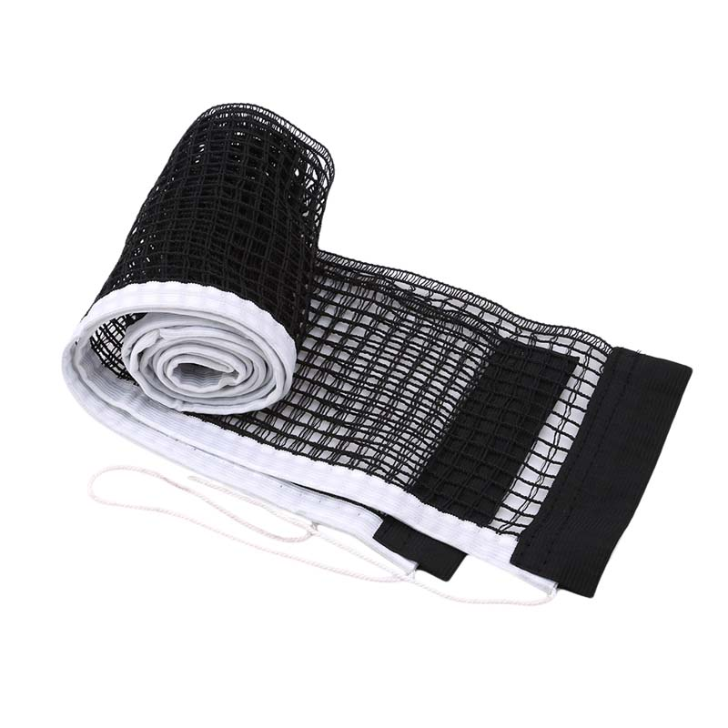 Table Tennis Table Plastic Strong Mesh Net Portable Net Kit Net Rack Replace Kit For Ping Pong Playing High Quality