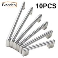 Probrico 10 PCS Boss Bar Furniture Cabinet Handle Stainless Steel Diameter 14mm Kitchen Door Pull Drawer Knob CC 96mm~320mm