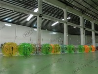 1.5m dia human inflatable bubble ball for adult soccer suit game