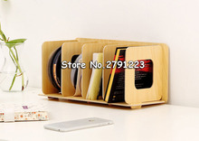 Простые книжные полки, DIY дисковые деревянные DVD стойки, полки для хранения для спальни, книжный шкаф Boekenkast