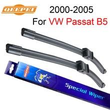 Щетки стеклоочистителя QEEPEI для VW Passat B5 2000 2001 2002 2003 2004 2005 ветровое стекло резиновые автомобильные аксессуары