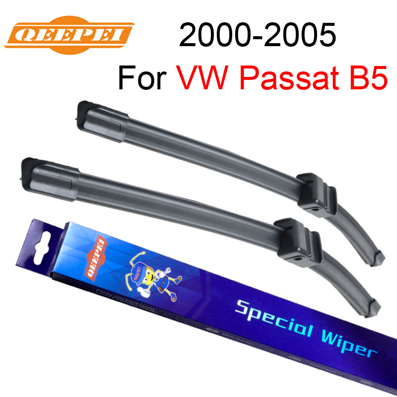 QEEPEI Wiper Blades For VW Passat B5 2000 2001 2002 2003 2004 2005 Windscreen Rubber Car