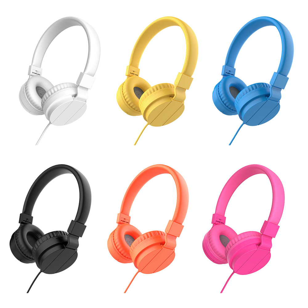 Gaming Headset Foldable Portable Adjustable for Phones MP3 MP4 Computer PC Deep Bass 3.5mm Headphones Earphones