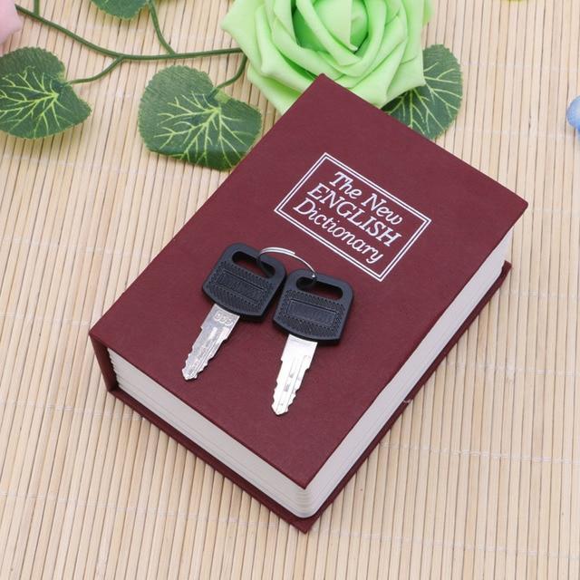 Mini Storage Box Cash Jewelry Secret Security Case Dictionary Book