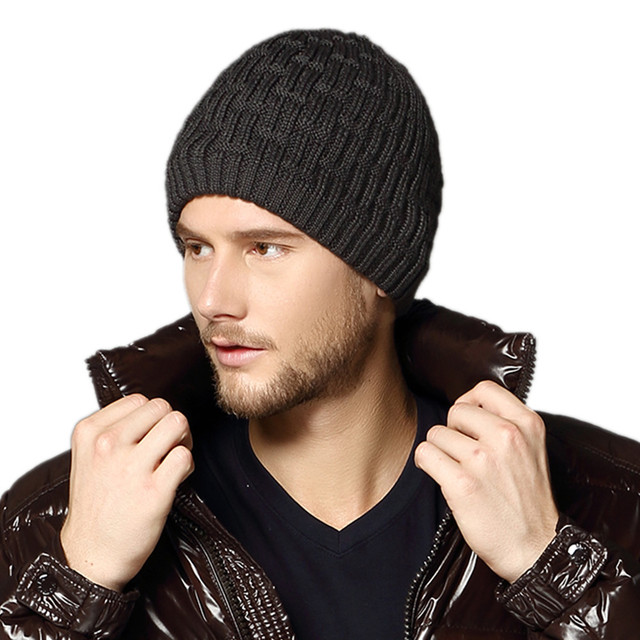 Free Shipping Christmas Gift Men's Kenmont Unisex Men Winter Cap  Knit Ski Beanie Hat KM-1596
