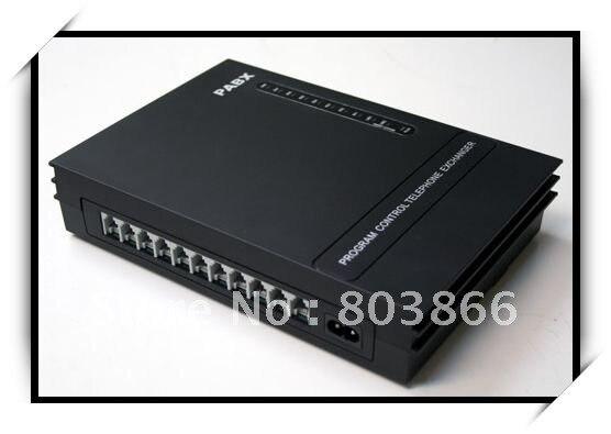 Téléphone PBX/PABX/commutateur de téléphone/mini pabx-3CO lignes x 8 extensions