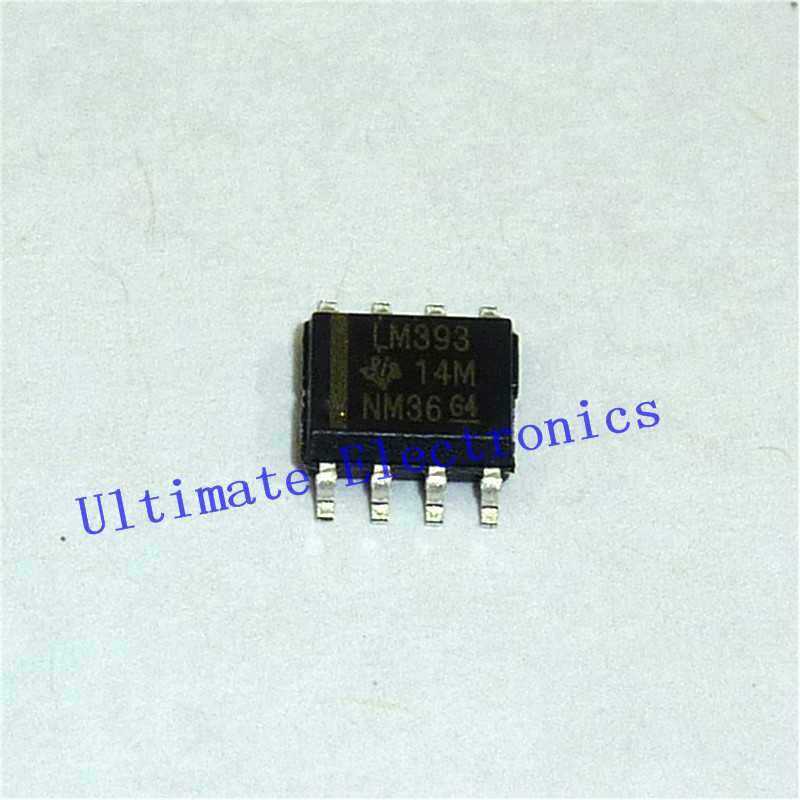 -18V//36V 8-Pin SOIC-8 Comparator Dual 10x  ON SEMI LM393DR2G