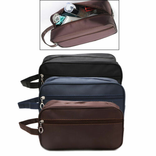 Image 5 - US Men Women Travel Portable Toiletry Bag Wash Shower Cosmetic Makeup Organizer-in Storage Bags from Home & Garden