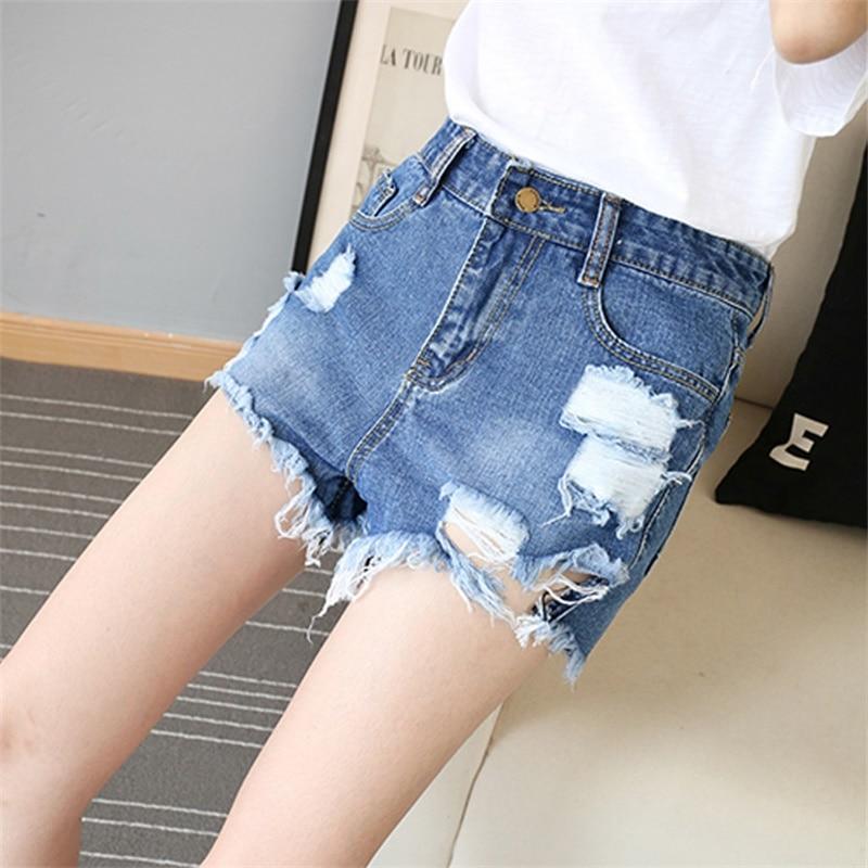 Pantalones cortos de cintura alta de verano Pantalones cortos de - Ropa de mujer - foto 1