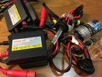Mejor Precio de Xenón HID Kit de Coche Faro Lastre Delgado 35 W H1 H3 H7 H11 lámpara de Xenón bombillas de los faros de Auto Car Styling 9005 9006 880