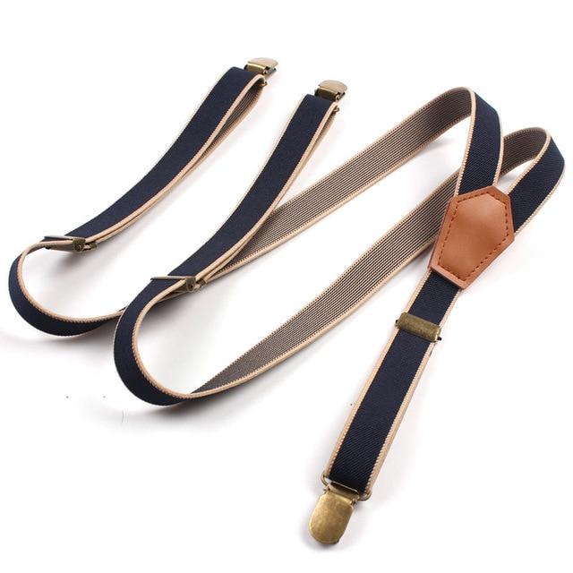 c423b7e2d New Design Y-Shape Suspenders for Women Men 3 Clip Buckle Suspender Belt  Adjustable Shirts Braces Unisex tirantes hombre