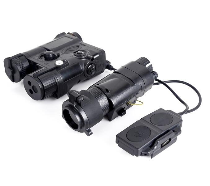 Airsoft SF PEQ 16A Tactical lights Combo L-3 Advanced Illuminator with M3X Aiming Red Laser and IR light combo wipson lanterna airsoft led light tactical kit includes la 5 peq 15