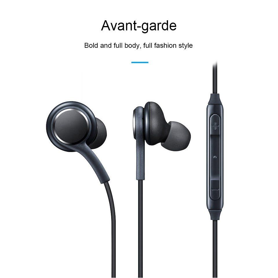 Head Phones Wired  MetalHIFI Bass Stereo Earphone Head Phone Headset With Mic 3.5mm Universal For GalaxyS8 HUAWEI Xiaomi