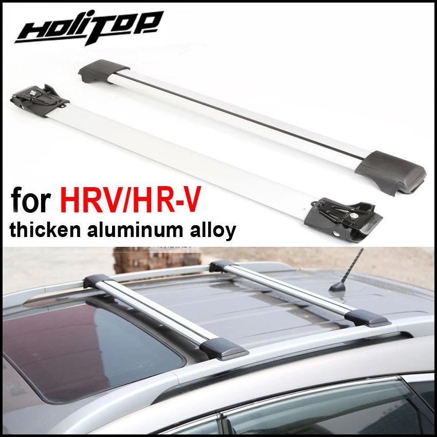 New arrival for Honda HR-V HRV X-RV Vezel roof rack roof rail roof bar 2010-2018 .thicken aluminum alloy.Asia free shipping бинокль bushnell powerview roof 10х25 камуфляж