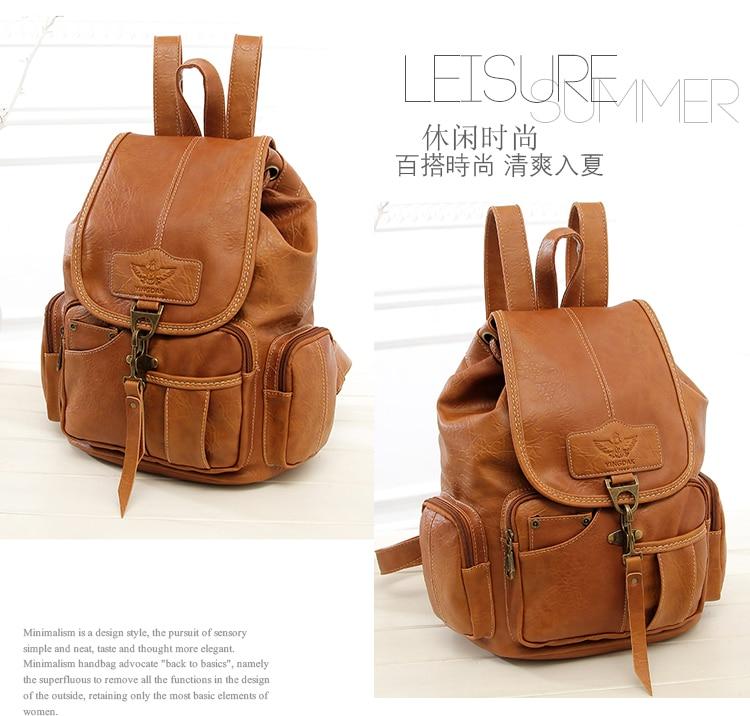 HTB189zFywmTBuNjy1Xbq6yMrVXa2 High Quality Women Backpack Vintage Backpacks For Teenage Girls Fashion Large School Bags PU Leather Black Mochila Feminina