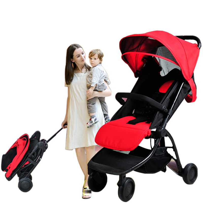 Fashion folding baby stroller baby car four wheel bb car buggiest baby stroller light детская коляска ibaby bb buggiest