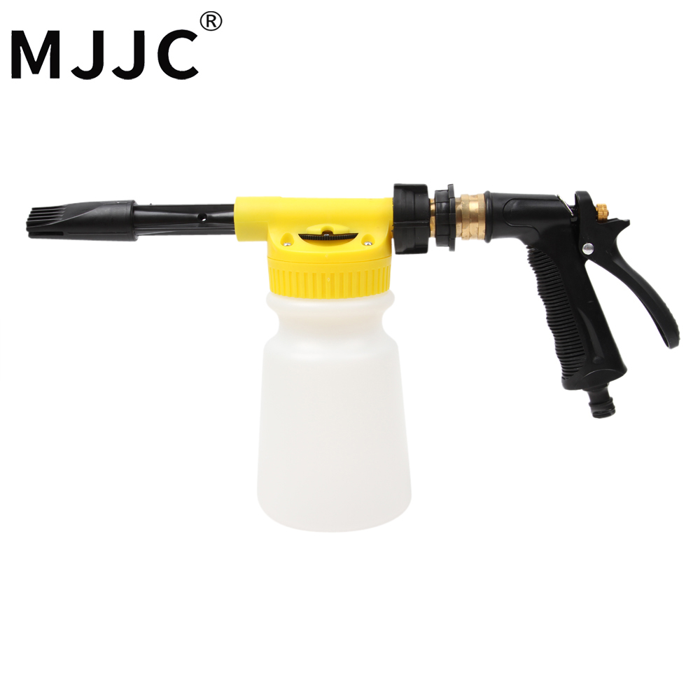MJJC Brand with High Quality Foamaster II Foam Wash Gun, making foam with only garden hose, no need of power or gas mjjc brand foam lance for karcher 5 units package free shipping 2017 with high quality automobiles accessory
