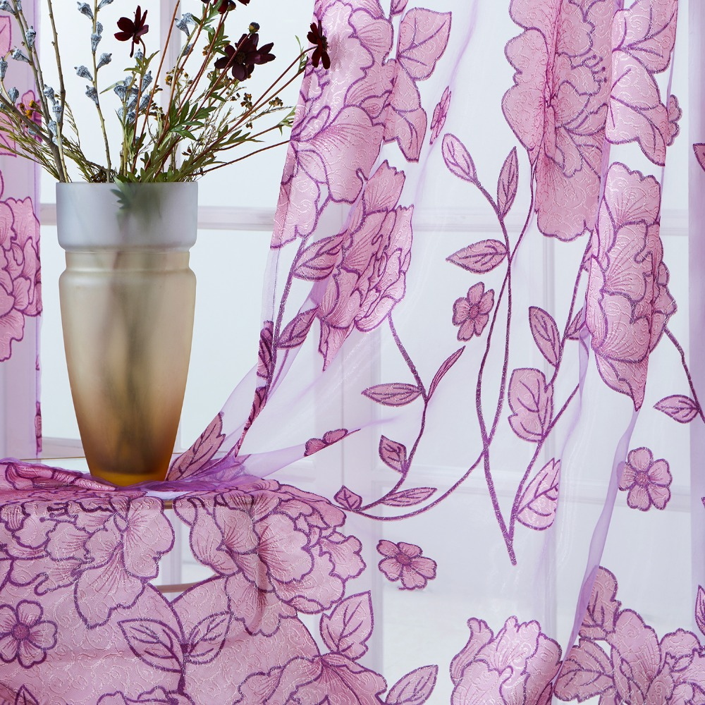 Yataq otağının pərdələri oturma otağı üçün lüks - Ev tekstil - Fotoqrafiya 2