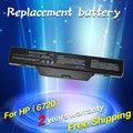 Bateria para hp 550 jigu business notebook 6720 s 6730 s 6735 s 6820 s 6830 s compaq 511 610 615 451085-141 451086-121 451086-161