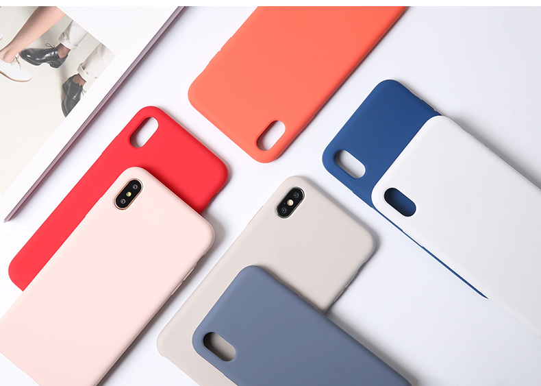Silicone Case for Apple iPhone 8