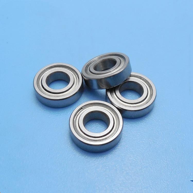 10 Units 5x10x4 Metal Shielded Bearing MR105-ZZ
