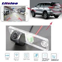 LiisLee wireless Videocamera vista posteriore per Toyota 4 Runner SW4 Hilux Surf 2002 ~ 2010 di Visione Notturna del CCD della macchina fotografica di Backup della Macchina Fotografica di Inverso