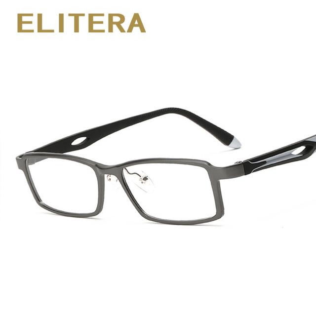 Gafas de moda Marco 2017 Hombres Marco Óptico Gafas de Lectura lente Transparente para la Miopía del Marco de Aluminio Y Magnesio Masculinos Populares