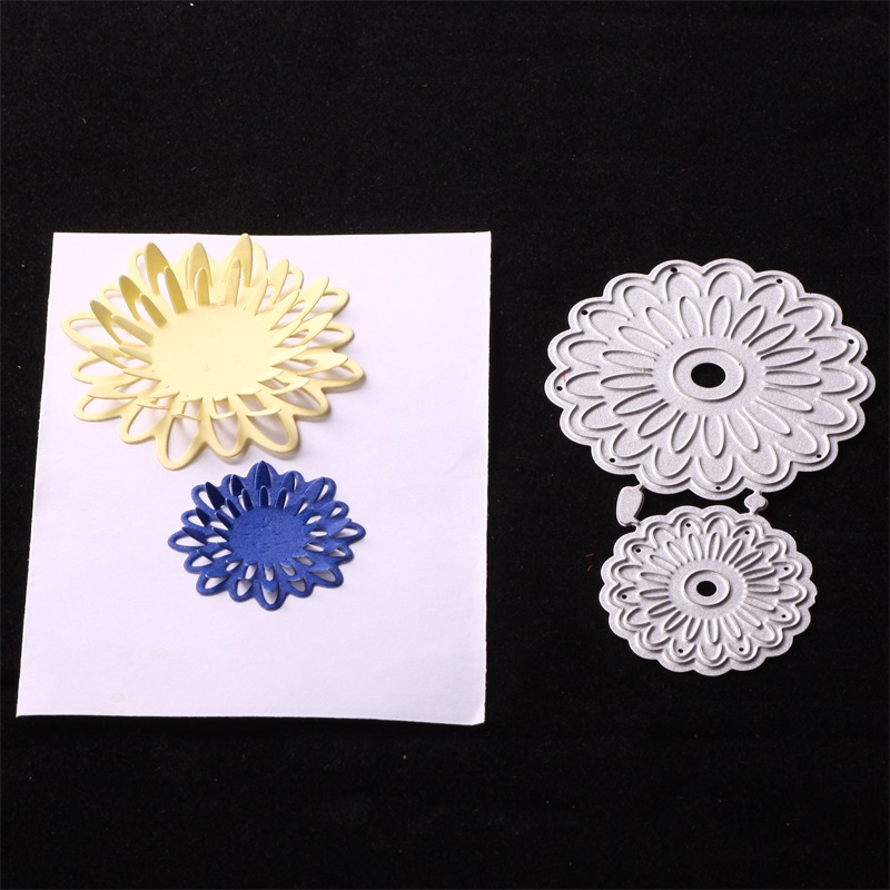 Lovely Flowers Metal Cutting Dies Stencils for DIY Scrapbookingphoto album Decorative Embossing DIY Paper Cards