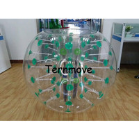 Free Shipping 1.5m Bubble Soccer Ball Inflatable Bumper Ball Bubble Football Bubble Ball Soccer Zorb Balloon Loopy Ball
