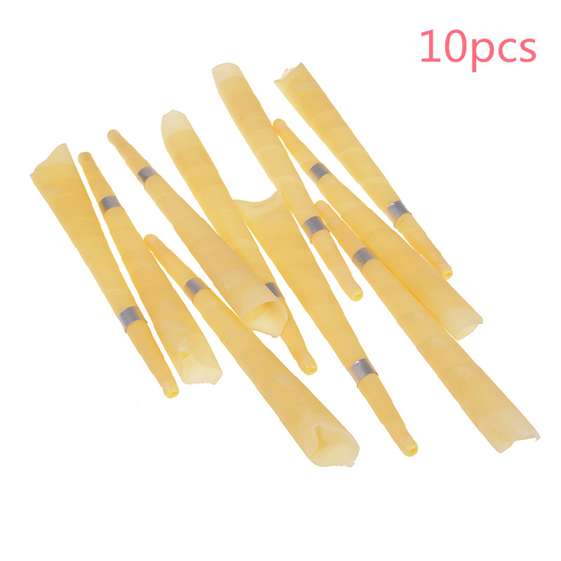 10pcs Natural Beeswax Ear Candles Ear Wax Clean Re