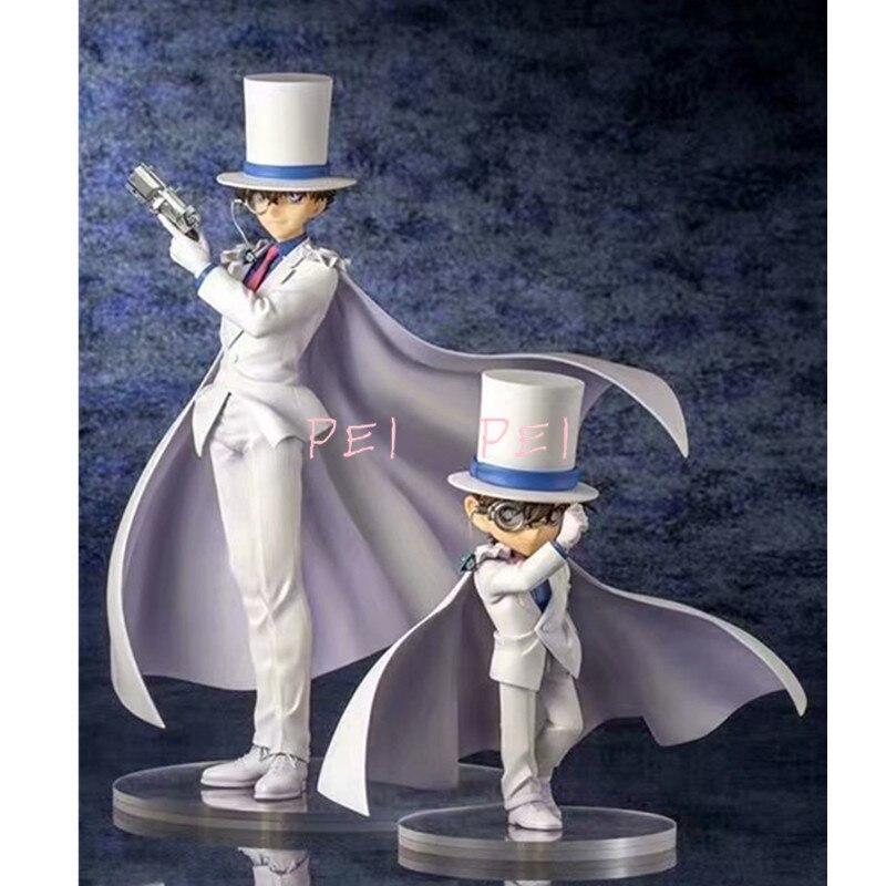 Detective Conan Edogawa Action Figure Kaitou Kiddo 15-25cm PVC Model In Box New