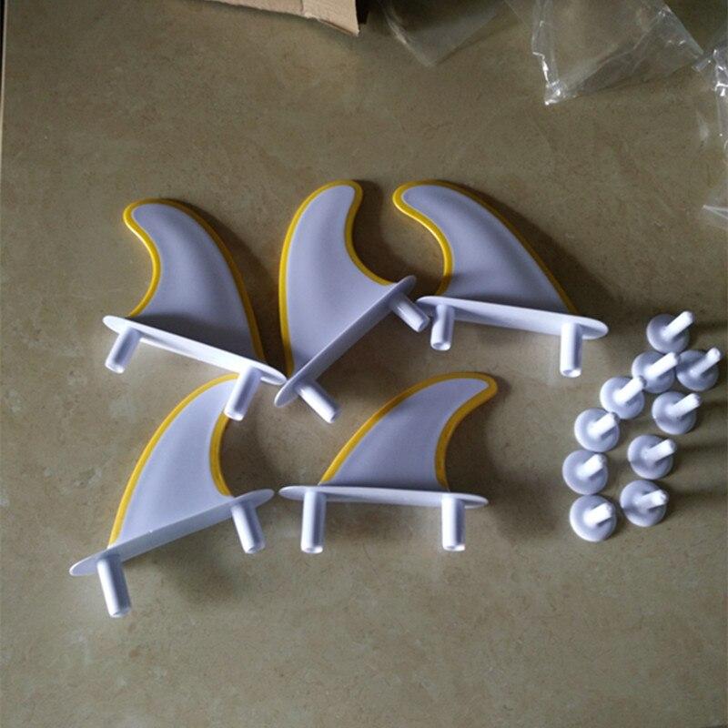 G5 + GX 5 pièces/ensemble planche de Surf souple série blanc planche souple