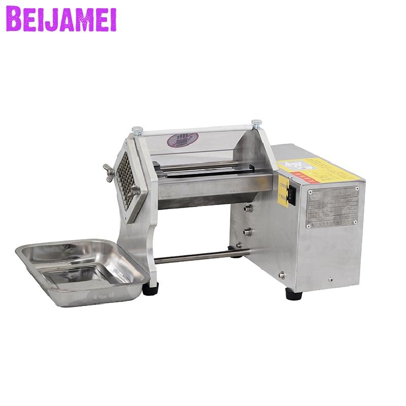 Beijamei New Electric Potato Slicer Commercial Cucumber, Radish, Onion, Pumpkin, Lettuce, Chips Cutter Machine