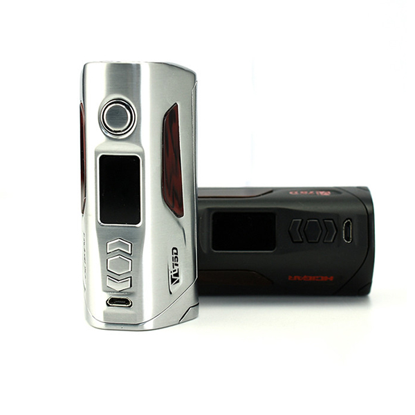 Original Hcigar VT75D Box Mod hcigar vt75 evolv dna75 e cigarette mod adopts Evolv DNA 75C chip powered by dual 18650 battery original hcigar vt75d dna 75w box mod