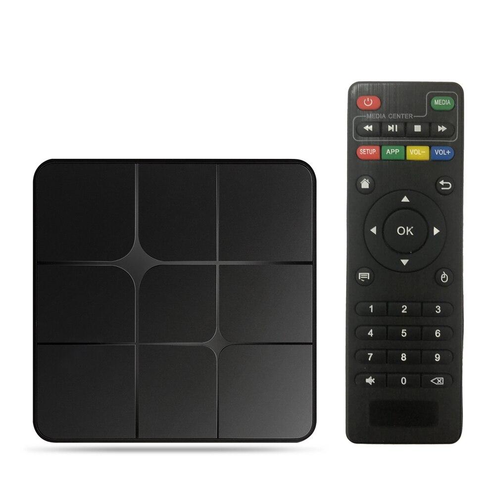 T96 Mars Android 7.1.2 Smart TV Box Amlogic S905W Quad Core H.265 VP9 HDR10 2 GB/16 GB Full HD 1080P WiFi LAN BT2.1 HD lecteur multimédia intelligent EU Plug