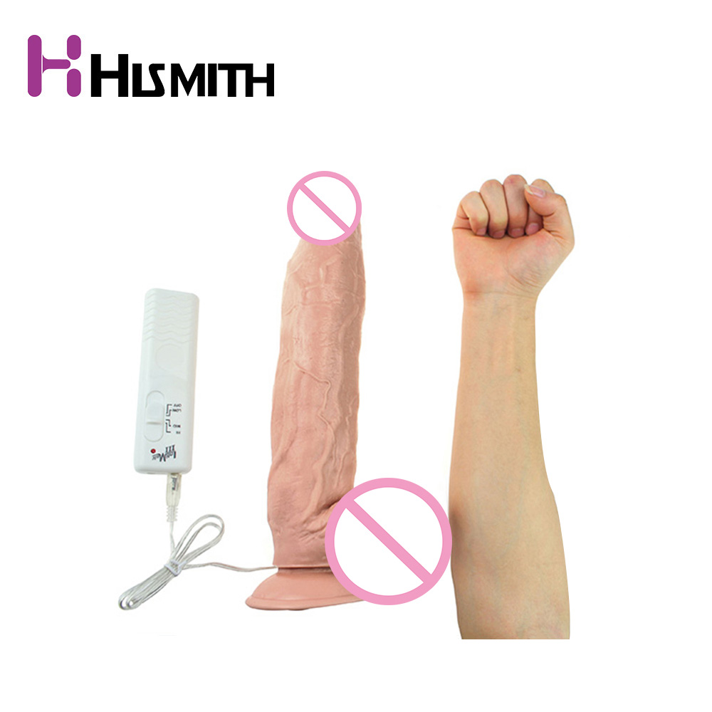 12.5 inch Vibrating Super Huge Flesh Silicone Dildo Big Dick Vibrator Sex Machine Realistic Soft Dildo Penis Vibrator Sex Toys electric heating penis silicone realistic big dildo vibrator sex toys for woman lifelike huge dick foreskin usb charging