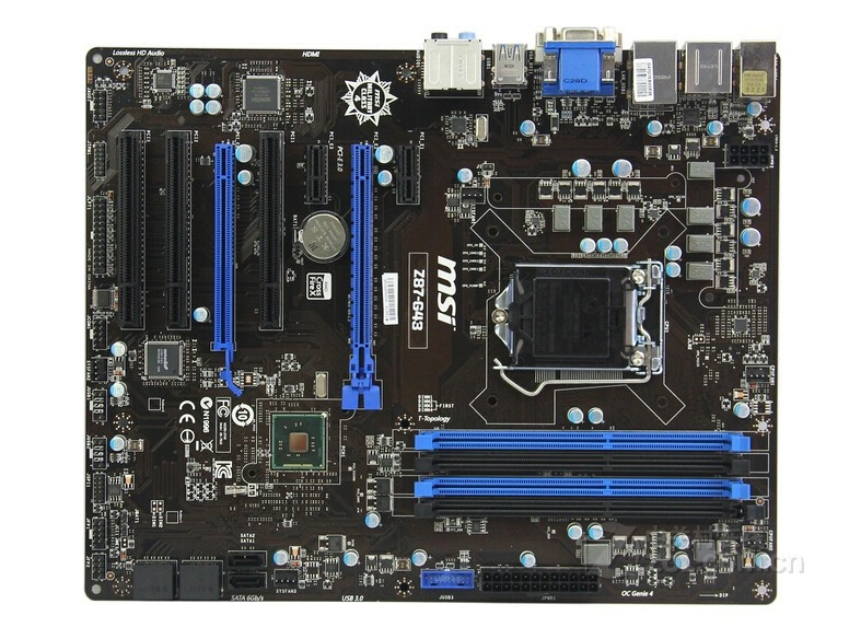 original motherboard for MSI Z87-G43 LGA 1150 DDR3 for i3 i5 i7 cpu 32GB Z87 Desktop motherboard Free shipping original z87 c 1150 motherboard z87 motherboard