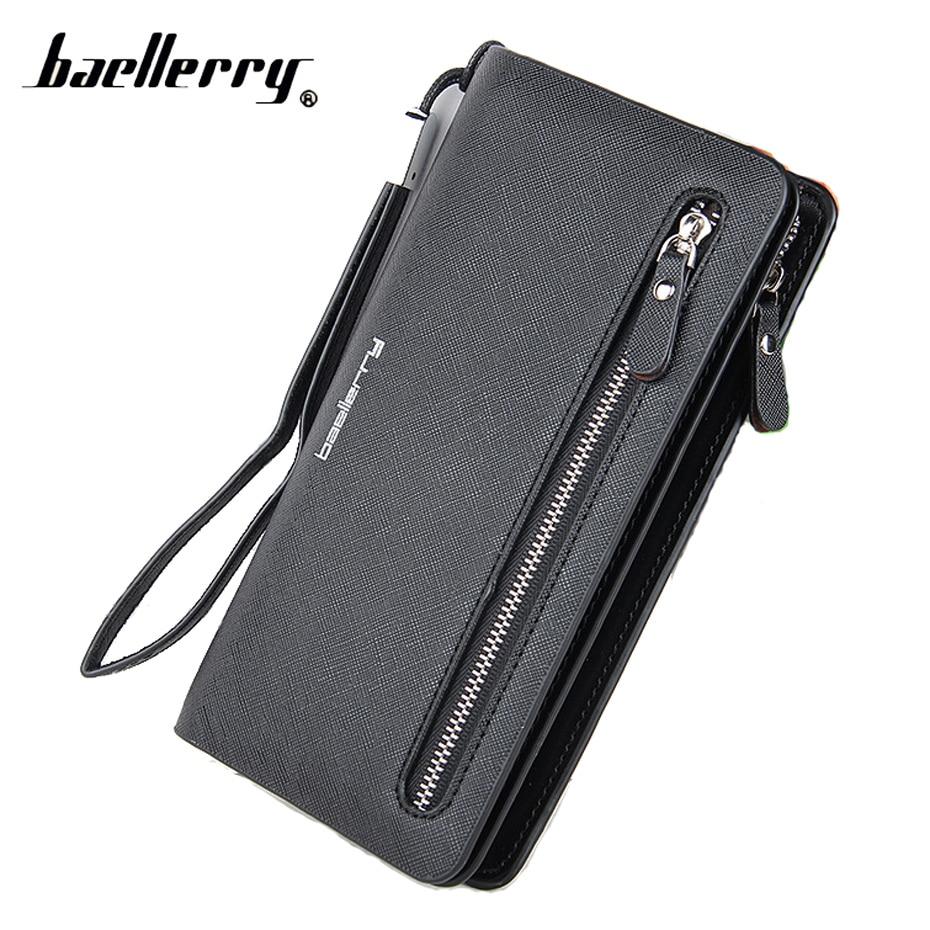 Baellerry Zipper Long Women Wallet Phone Clutch Purse Coin F
