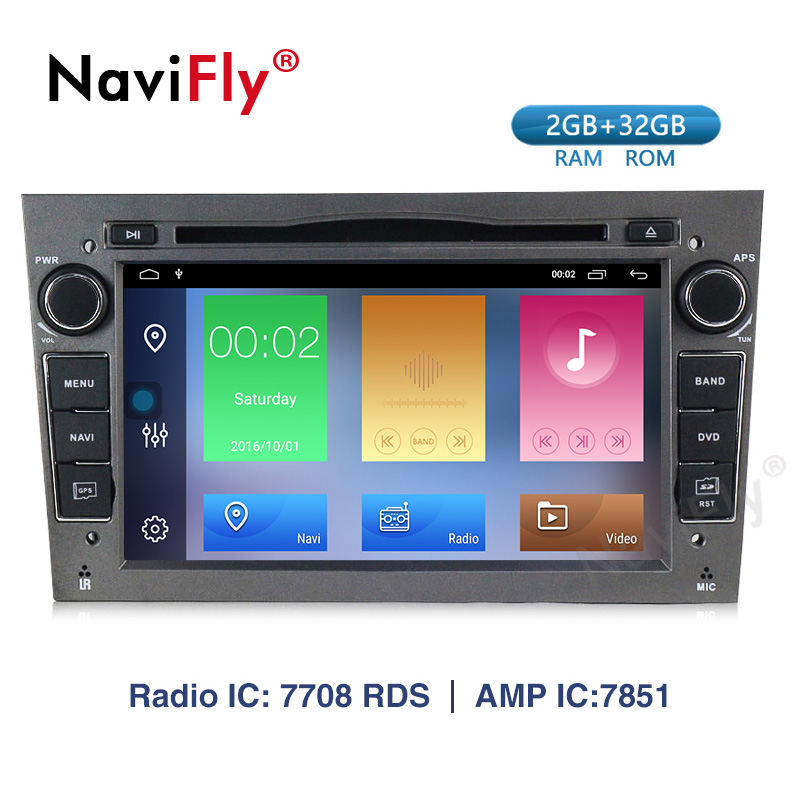 Navifly! Android 9.1 voiture dvd GPS Navigation pour opel Vauxhall Astra H G J Vectra Antara Zafira Corsa voiture lecteur multimédia RDS
